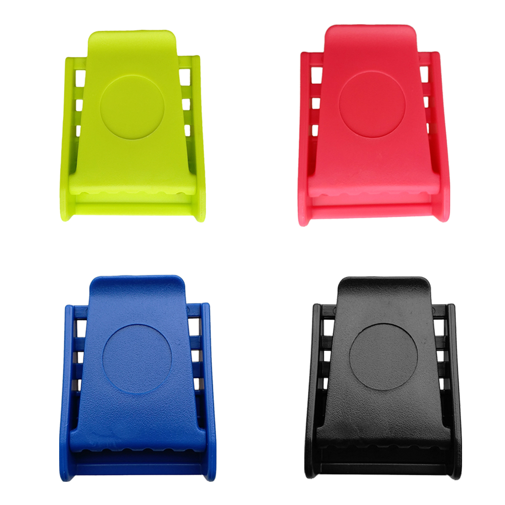 Durable Plastic Scuba Diving Diver Standard 50mm Weight Belt Buckle With 3 Slots - 4 Colors Available