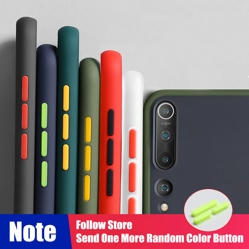 Shockproof Armor Case For Xiaomi Mi Note 10 CC9 CC9E 9 9T A3 Lite 8 Clear Case For Redmi K30 20 8A 7A Note 8T 8 7 7S 6 Pro Cover