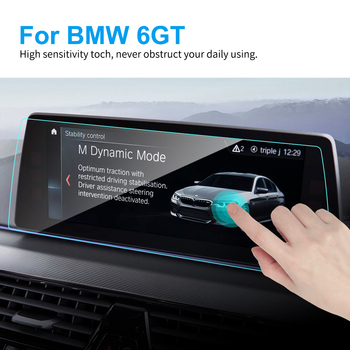 10.25 Inch TPU Car Screen Protector for BMW G32 Gran GT 6 Series 2018 Car GPS Navigation Touch Screen Protective Film Accessory image