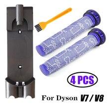 Aspirador de pó docking station acessórios de parede para dyson v7 v8
