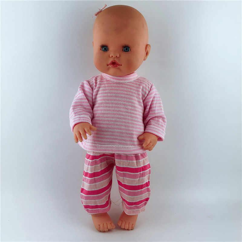 Ropa de la muñeca de 35CM 13 pulgadas Accesorios Nenuco y su Hermanita 15 estilos Conjuntos de Ropa Casual