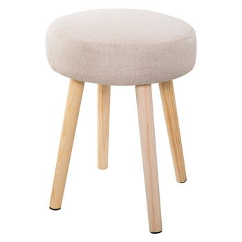 Solid Wood For Shoes,Cloth Art, Small Stools, Family Sitting Room Stools, Simple Modern Sofa Stools, Meals, Small Stool