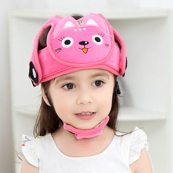 Cartoons Animal Baby Head Protect Hat Learn Walk Defence Hit The Cap Drop Security Helmet Pillow