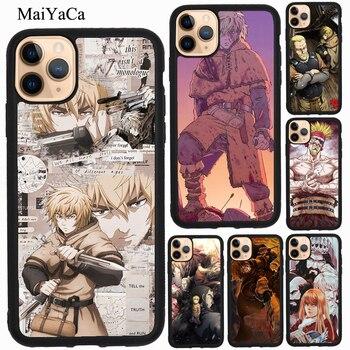 MaiYaCa Vinland Saga caso para iPhone 11 Pro Max XR X XS X Max 5S SE 2020 8 S 6 7 Plus Coque Fundas