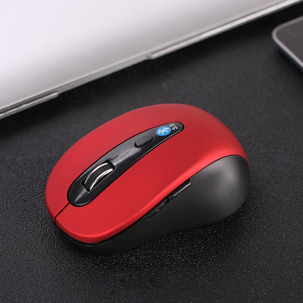 Bluetooth Mouse Portable Wireless Mouse 24 Months Battery Life Cordless Mice 1600DPI Adjustable for PC/Tablet/Laptop pro 13 image