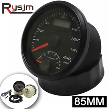 Gauge Speedometer Gps-Antenna Boat Motorcycle Gps 85mm Gps 0-8000RPM with Car