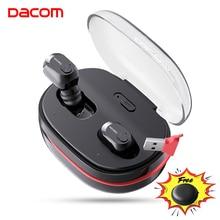 DACOM K6H Pro TWSแฮนด์ฟรีAirหูฟังชุดหูฟังสเตอริโอมินิหูฟังบลูทูธ5.0 Budsหูฟังหูฟังไร้สายหูฟังPK I12 Tws