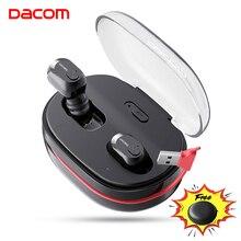 DACOM K6H Pro TWS Handsfree Air Earpiece Mini Headset Stereo Bluetooth 5.0 Earbuds Buds Wireless Earphone Headphones PK i12 tws