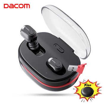 DACOM K6H Pro TWS Handsfree Air Earpiece Mini Headset Stereo Bluetooth 5.0 Earbuds Buds Wireless Earphone Headphones PK i12 tws - DISCOUNT ITEM  60% OFF All Category