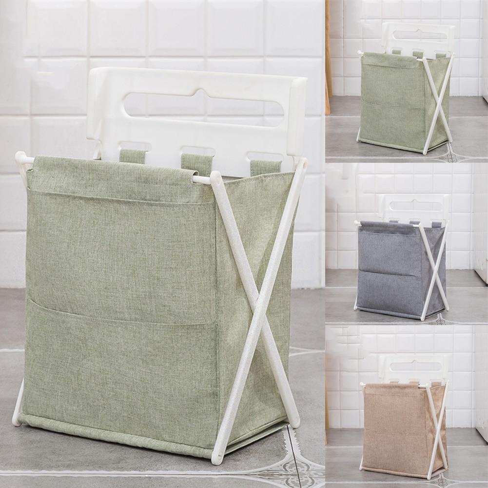 0-Бытовая настенная корзина для хранения белья для ванной, складная игрушка для одежды, органайзер для мелочей, складная сумка для стирки бел... смотреть на Алиэкспресс Иркутск в рублях