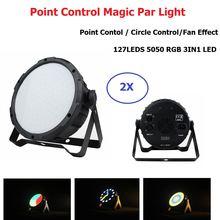 Светодиодный сценический светильник 127 s rgb волшебный шар