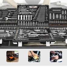Набор ручных инструментов с трещоткой, Набор комбинированных адаптеров, набор гаечных ключей, набор обычных домашних гаечных ключей, набор инструментов для ремонта авто