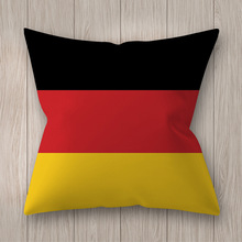 Decorative Pillow Case National Flag Designer Cushion Cover