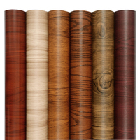 5m * 80cm dicken PVC selbst-adhesive holzmaserung schrank schrank tür möbel renovierung hause wand aufkleber dekorative tapete