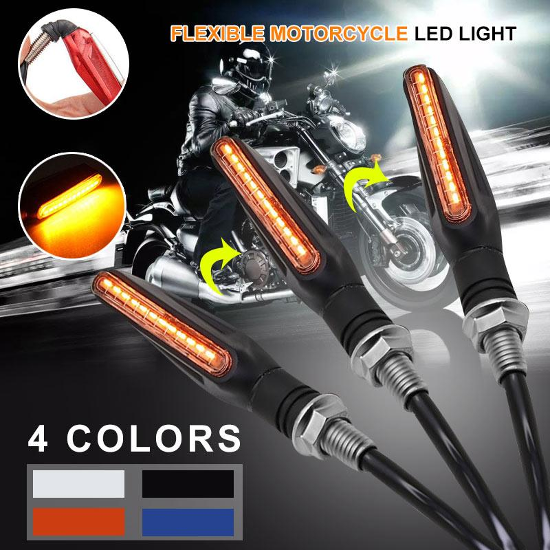 Vehemo Motorcycle Signal Lamp Refit Turn Signal Light Bulb Indicator Light For Led Replacement Motorbike For Modification Parts
