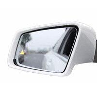 Lane change Blind Spot Detection Monitor parking Assist Radar Sensor Warning System LED Mirror for Mercedes C Class W204 W205