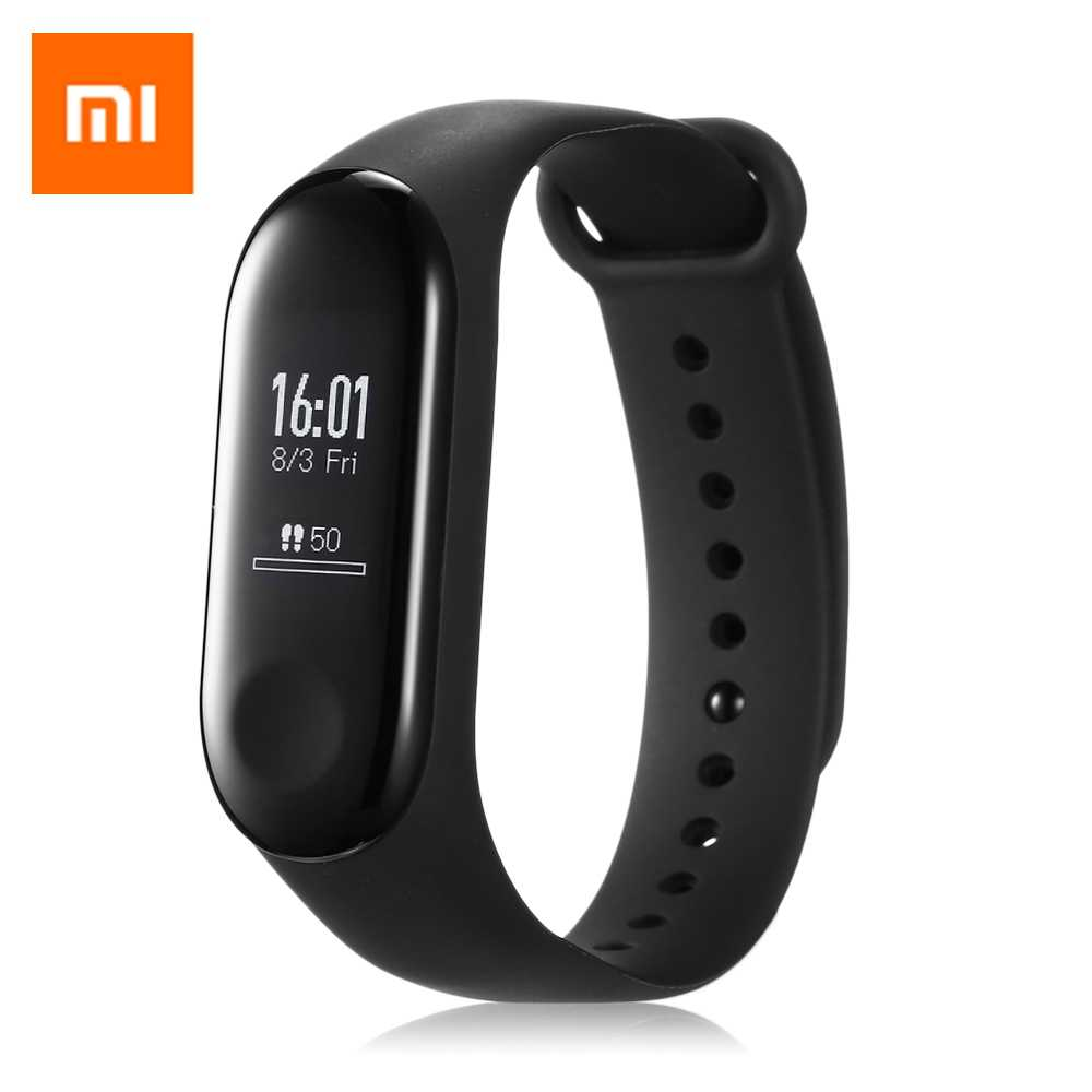 Originele Xiao mi mi band 3 Smart polsband Horloge Oled Touch SCREEN Waterdicht Hartslag Fitness Tracker Smart Armband M3 sport