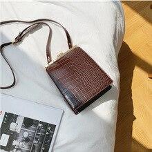 Women Handbag Messenger-Bag Crossbody-Bag Crocodile-Pattern Shoulder Casual Brand Alligator