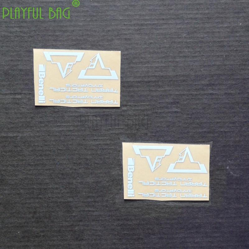 Outdoor Sports DIY Cs  Sticker TTI Benelli Metal Sticker UDL 1014 Pop Aka M870 Kam Ming Shui Bullet LDT L57