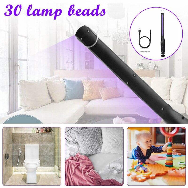 Portable Handheld Sterilize UV Light Home Mobile Disinfection Germicidal Lamp I88