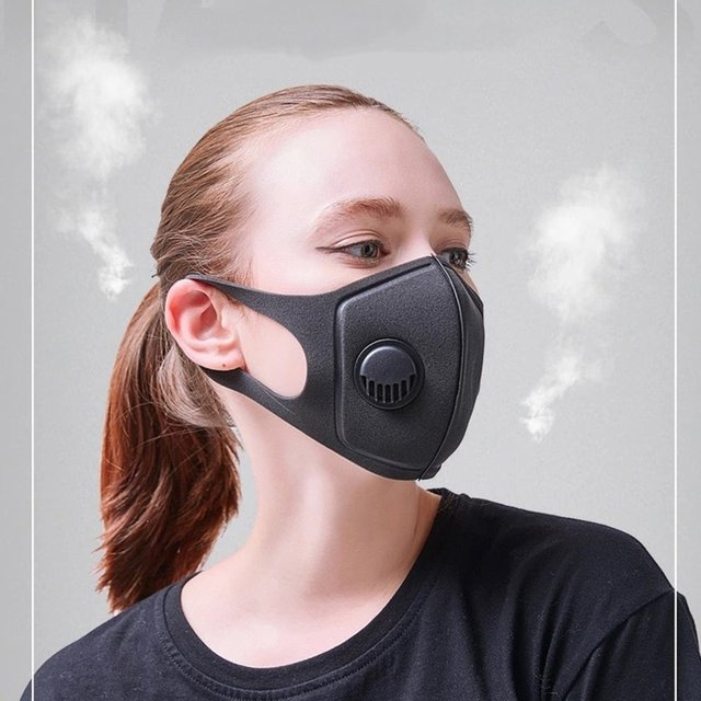 PM2.5 Face Mask Dust Masks Filter Anti Pollution Mouth Cover Reusable Mouth Masks Washable Outdoor Protect Masks Unisex