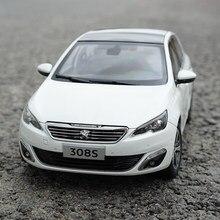 1:18 peugeot 308s 2015 hatchback liga diecast metal modelo de carro original brinquedo para crianças presentes aniversário brinquedo coleção