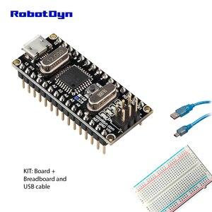 Image 3 - Nano CH340/ATmega328P MicroUSB, Pins soldered. Compatible for Arduino Nano V3.0
