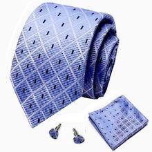 Новый цветочный принт галстук и карманный квадратный комплект