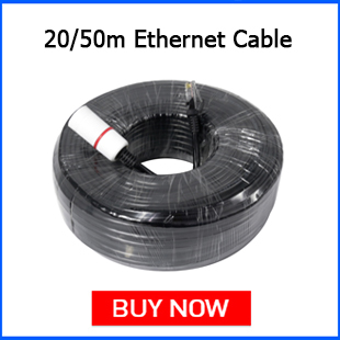 Hiseeu 20m 50m Ethernet Cable