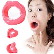 Smile Massager Mouth Exerciser Silicone Rubber Face Slimmer Smile Corrector Lip