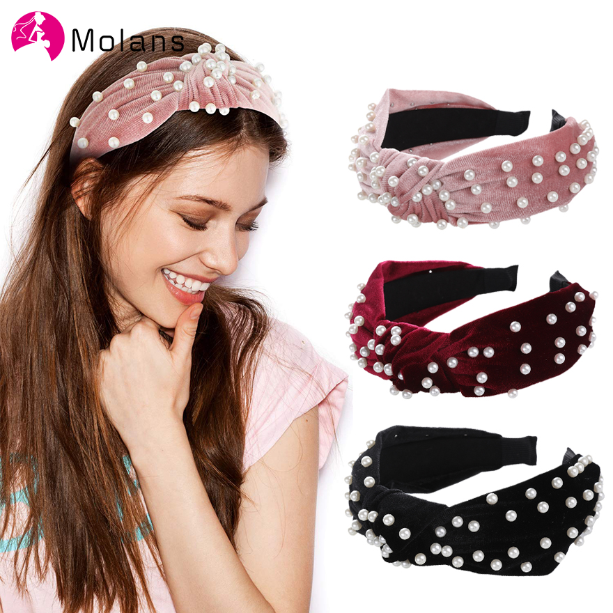 Fashion Girls Wide Lace Headband Twist Bow Knot Cross Hairband Hair Accessories