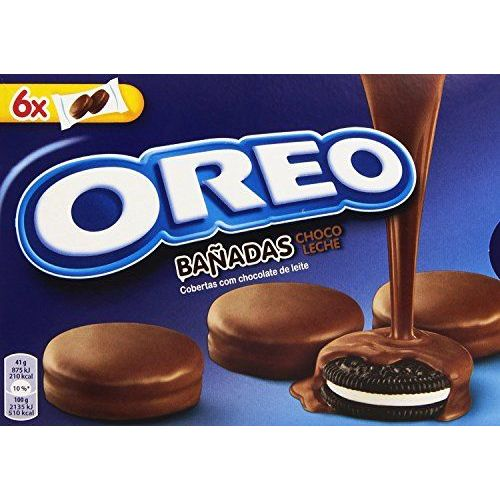 Oreo Cookies Covered With Milk Chocolate 246 Gr. - [Pack Of 3]