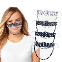 Mini-masque facial lavable et réutilisable, 1 pièce, unisexe, confortable, imprimé, Transparent, pour animaux de compagnie