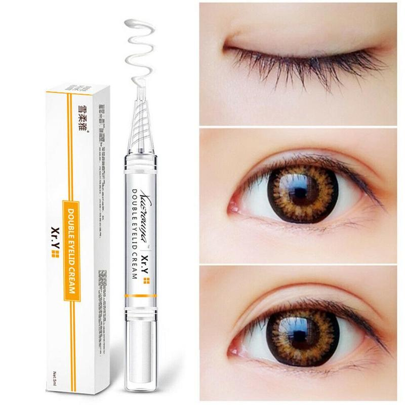 Double Eyelid Shaping Lift Styling Cream Natural  Lasting Mild Skin Gel Transparent Texture Beauty Makeup Tool