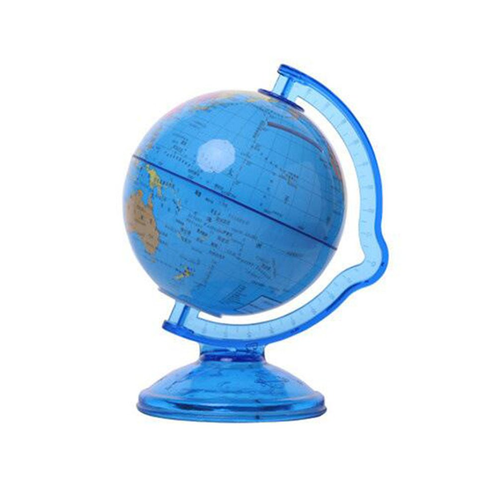 World Earth Globe Piggy Bank Mini Money Box Safety Terrarium Coins Cash Box Deposit Saving Box For Children Kids Gift