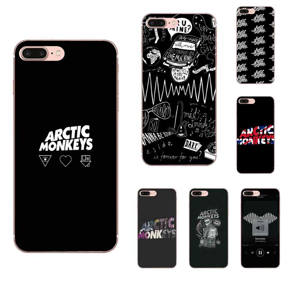 Soft Case For Apple iPhone 4 4S 5 5C 5S SE 6 6S 7 8 11 Plus Pro X XS Max XR Arctic Monkeys Picture
