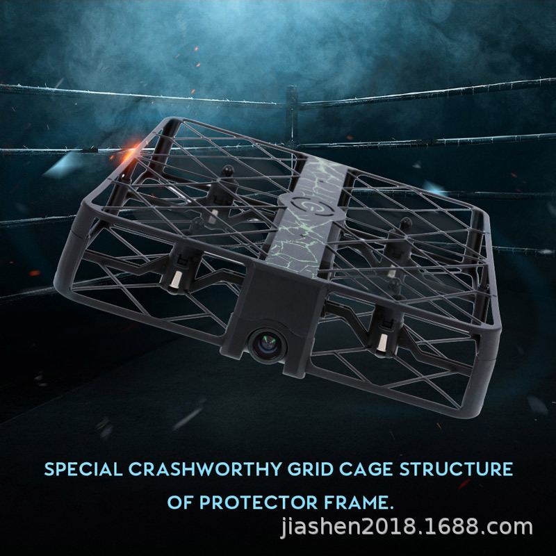 Z8 New Style Fully Protection Remote Control Aircraft 720pwifi Real-Time Transmission Unmanned Aerial Vehicle Set High Quadcopte