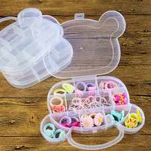 adorable kids Children's hair accessories organizer little jewelry container house doll Jewelry Pretend Play Toy Storage Box