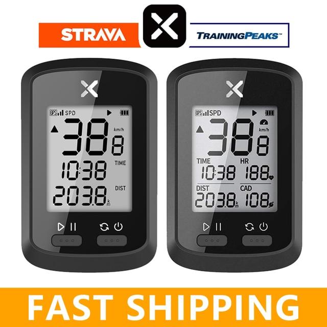 Беспроводной GPS Спидометр XOSS G/G Plus, горный велосипед, с Bluetooth, ANT +, компьютер для измерения частоты вращения педалей, не Garmin I GPS