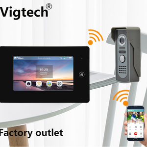 Wifi Doorbell With Monitor And
