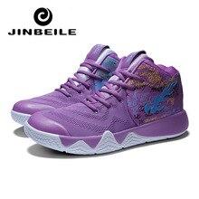 Purple Kyrie Size 45 Basketball Shoe For Men Jordans Women Sport Sneakers Breathable Air Basketbol Ayakkabisi Irving Retro 11