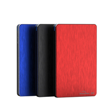 2.5 ssd external hard drive disk 9.5mm sata 500G/1TB/2TB HDD with Aluminum hdd enclosure case USB 3.0 PC disk duro blueendless