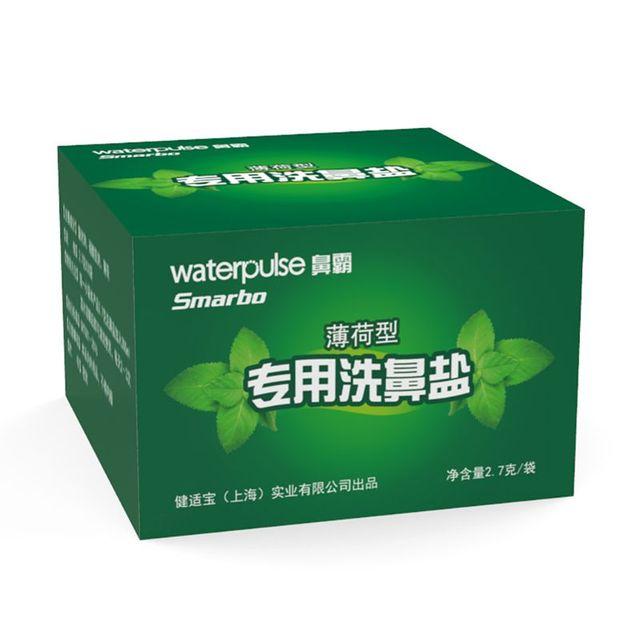 Sweet Mint Nasal Wash Salt 2.7g x 30 Nasal Rinse Mix Nose Irritation Irrigator  T4MB 4