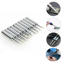 10 Pcs Soldering Iron Tip 900M Tips For 936 Soldering Station Accessory Tools(China)