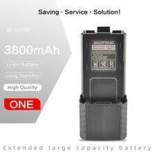 Baofeng Walkie-Talkie UV-5R BL-5 1800mah Da Bateria Original 3800mAh Bateria para UV-5R UV-5RA BF-F8HP UV-5RE DM-5R Plus RT-5R RT5R