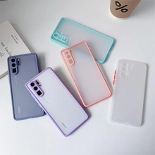 Camera Protection Bumper Phone Cases For Huawei P40 P30 P20 Lite Mate 30 20 Honor 30 30S 20 Nova 7 7SE 3i Y6 Pro Y9 Prime 2019