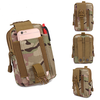 Tactical Pouch Belt Waist Pack Small Pocket Military Running Pouch Camping Waterproof Bags Outdoor Mobile Phone Wallet Travel men tactical molle pouch belt waist pack bag small pocket military waist pack phone pouches outdoor running travel camping bags