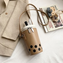 Новая Мультипликация очаровательный для женщин сумка творческая личность смешная бутылка сумка, модные ювелирные изделия, сумка на цепочк...