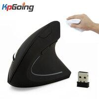 Gamer Drahtlose Maus Vertikale Maus Ergonomische Optische 2 4G 800 1200 1600 Handgelenk Healing Bunte Licht Mause für Windows MAC OS