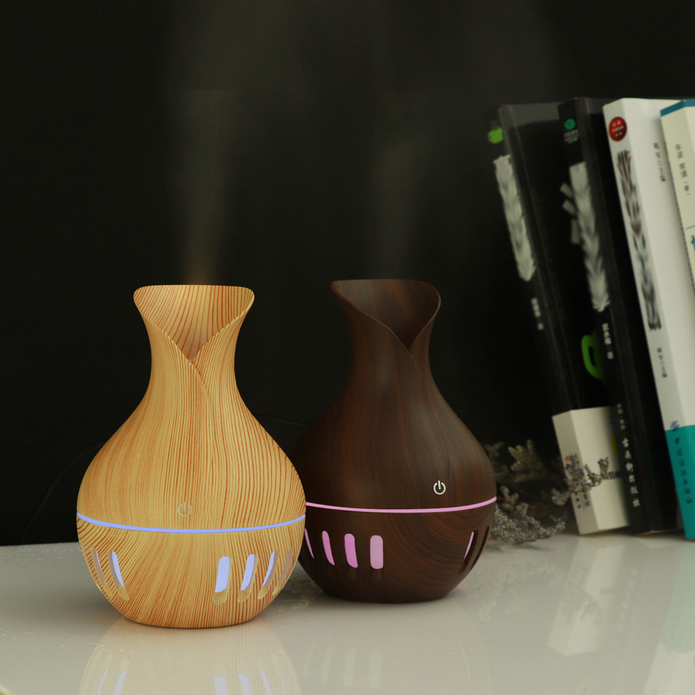 Купить с кэшбэком Humidifier Aroma Diffuser 7 Color Changing LED Light Aroma Diffuser Home Office